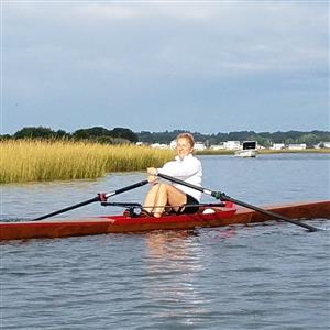 Rowing on Westerly Ponds