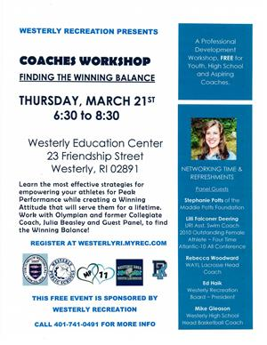 Coaches Professional Development Workshop