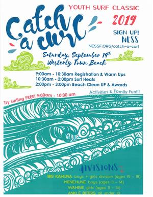 CATCH A CURL SURFING DAY AT WTB